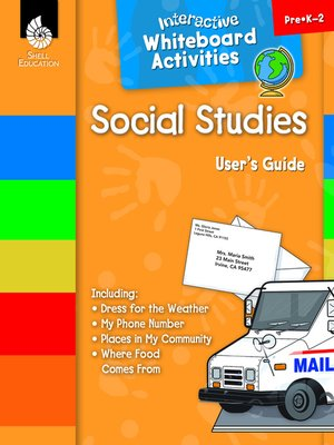 cover image of Interactive Whiteboard Activities: Social Studies
