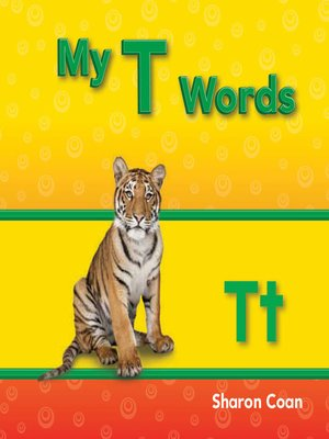 cover image of My T Words