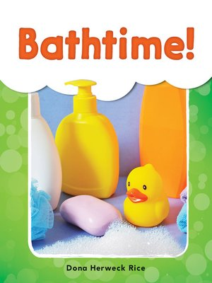 cover image of Bathtime!
