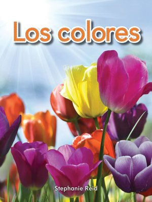 cover image of Los colores (Colors)