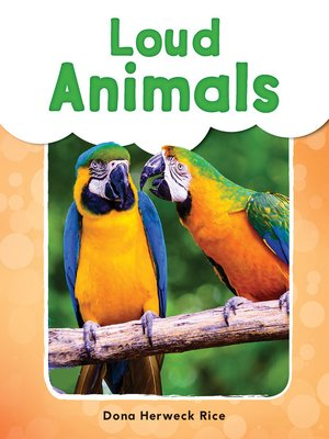 cover image of Loud Animals Read-Along eBook