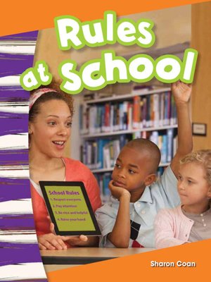 cover image of Rules at School
