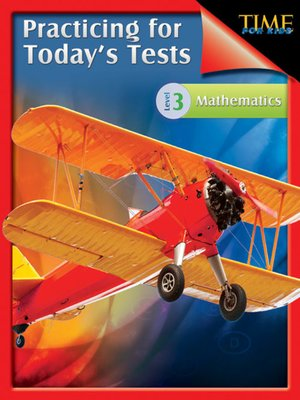 cover image of Practicing for Today's Tests Mathematics, Level 3