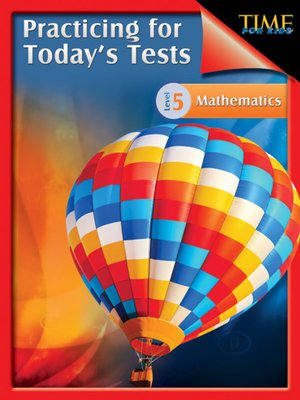 cover image of Practicing for Today's Tests Mathematics, Level 5