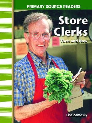 cover image of Store Clerks Then and Now