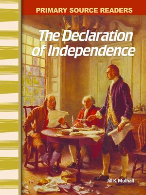 cover image of The Declaration of Independence
