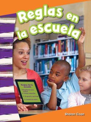 cover image of Reglas en la escuela (Rules at School)