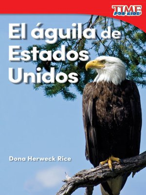 cover image of El águila de Estados Unidos (America's Eagle)