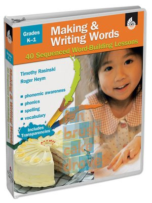 cover image of Making & Writing Words