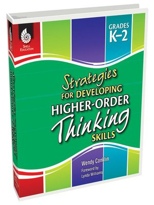 cover image of Strategies for Developing Higher-Order Thinking Skills Levels K-2