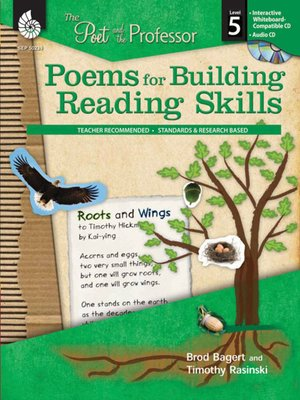 cover image of The Poet and the Professor: Poems for Building Reading Skills: Level 5