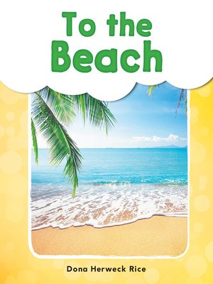 cover image of To the Beach