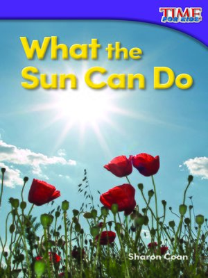 cover image of What the Sun Can Do
