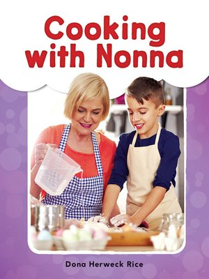 cover image of Cooking with Nonna