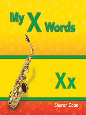 cover image of My X Words