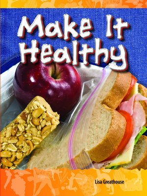 cover image of Make It Healthy