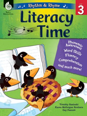 cover image of Rhythm & Rhyme Literacy Time Level 3