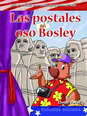 cover image of Las postales del oso Bosley (Postcards from Bosley Bear)