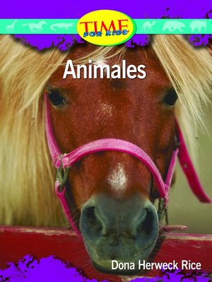 cover image of Animales (Animals)