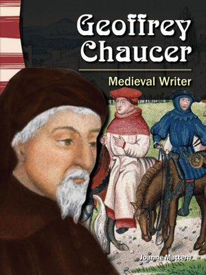 cover image of Geoffrey Chaucer: Medieval Writer