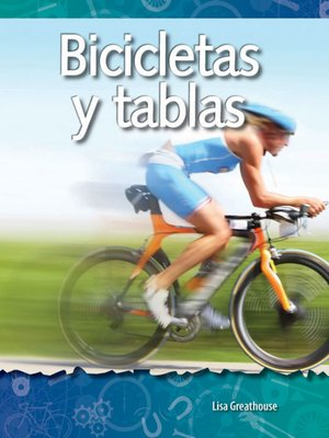 cover image of Bicicletas y tablas (Bikes and Boards)