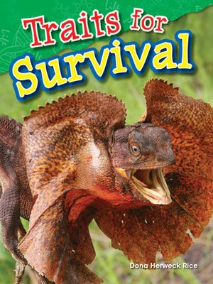 cover image of Traits for Survival