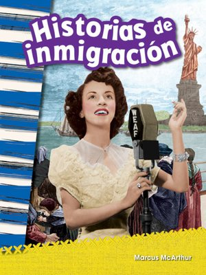 cover image of Historias de inmigración (Immigration Stories)