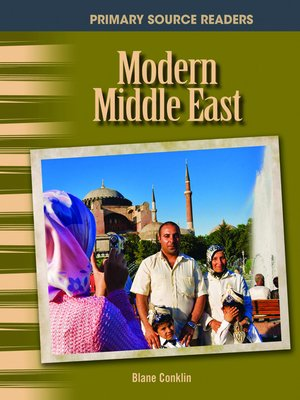 cover image of Modern Middle East