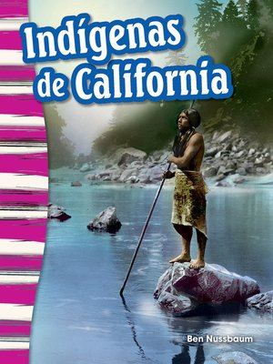 cover image of Indígenas de California (California Indians)