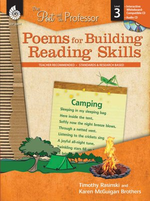 cover image of The Poet and the Professor: Poems for Building Reading Skills: Level 3