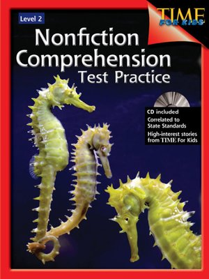 cover image of Nonfiction Comprehension Test Practice, Level 2