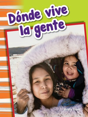 cover image of Dónde vive la gente (Where People Live)