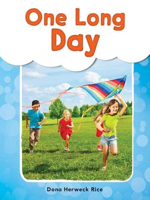 cover image of One Long Day Read-Along eBook