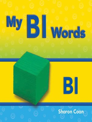 cover image of My Bl Words