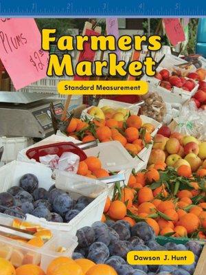 cover image of El mercado de productos agrícolas (Farmer's Market)