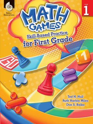 cover image of Math Games: Skill-Based Practice for First Grade