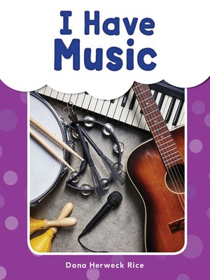 cover image of I Have Music