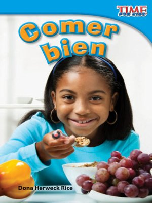 cover image of Comer bien (Eating Right)