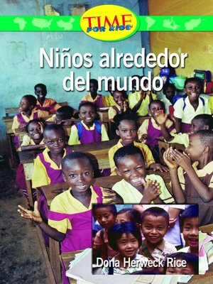 cover image of Niños alrededor del mundo (Kids Around the World)