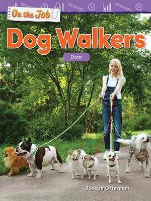 cover image of On the Job: Dog Walkers: Data