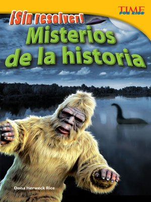 cover image of ¡Sin resolver! Misterios de la historia (Unsolved! History's Mysteries)