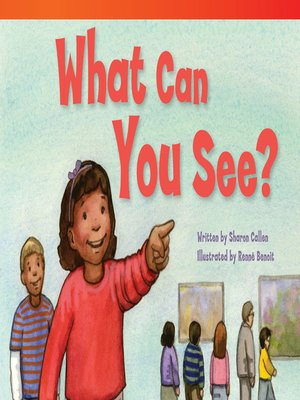 cover image of What Can You See?