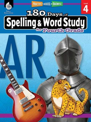 cover image of 180 Days of Spelling and Word Study for Fourth Grade