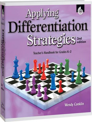 cover image of Applying Differentiation Strategies: Grades K-2