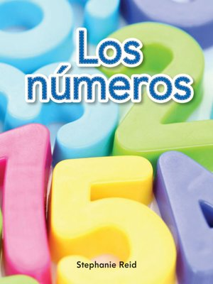 cover image of Los números (Numbers)