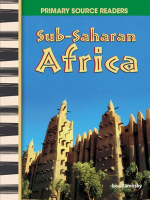 cover image of Sub-Saharan Africa
