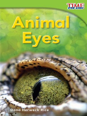 cover image of Animal Eyes