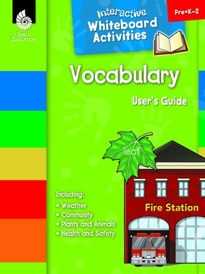 cover image of Interactive Whiteboard Activities: Vocabulary