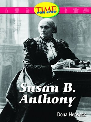 cover image of Susan B. Anthony (Spanish Version)