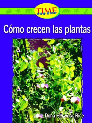 cover image of Como crecen las plantas (How Plants Grow)